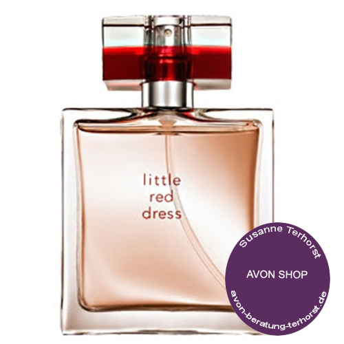 avon little red dress eau de parfum 38844. Black Bedroom Furniture Sets. Home Design Ideas
